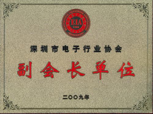 深圳电子行业协会副会长